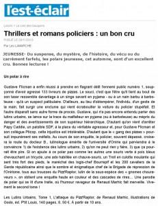 Article Lutins l'est-éclair-031113