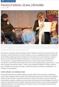 Article Les Lutins Urbains-Télégramme 251015