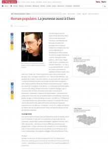 Renaud Marhic et les Lutinsd Urbains dans Le Télégramme