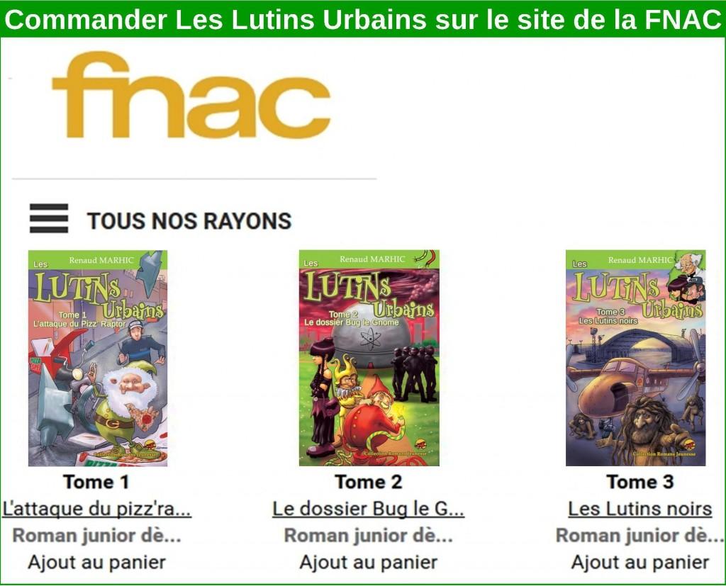 Achetez Les Lutins Urbains sur le site de la FNAC