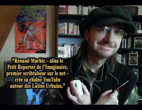 Écrivain et youtubeur : le scribtubeur