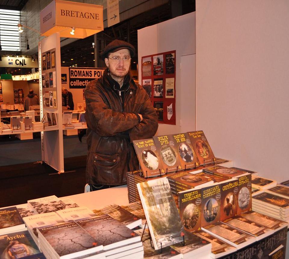 Le Petit Reporter de l'Imaginaire au Salon du Livre de Paris