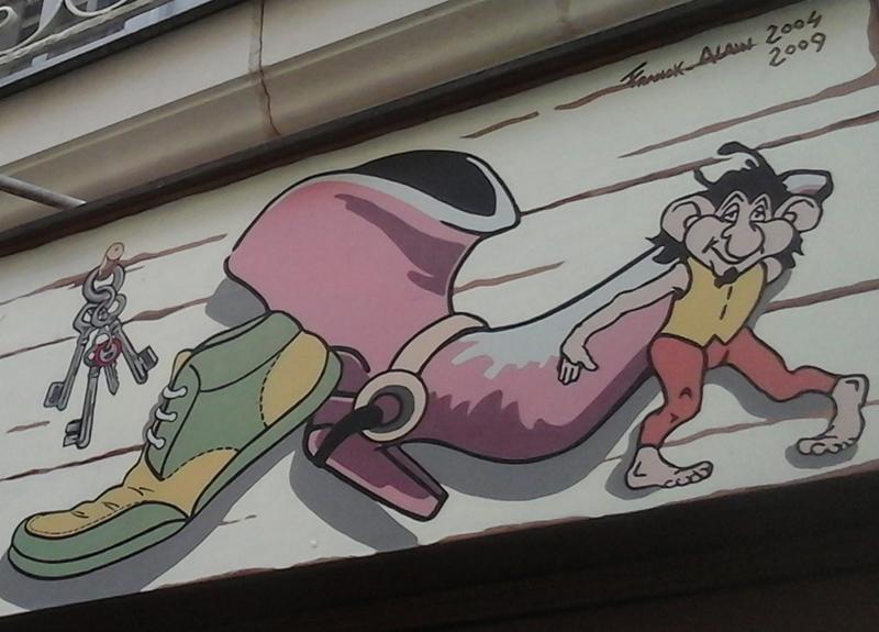 Les lutins font le mur - Nantes 2016