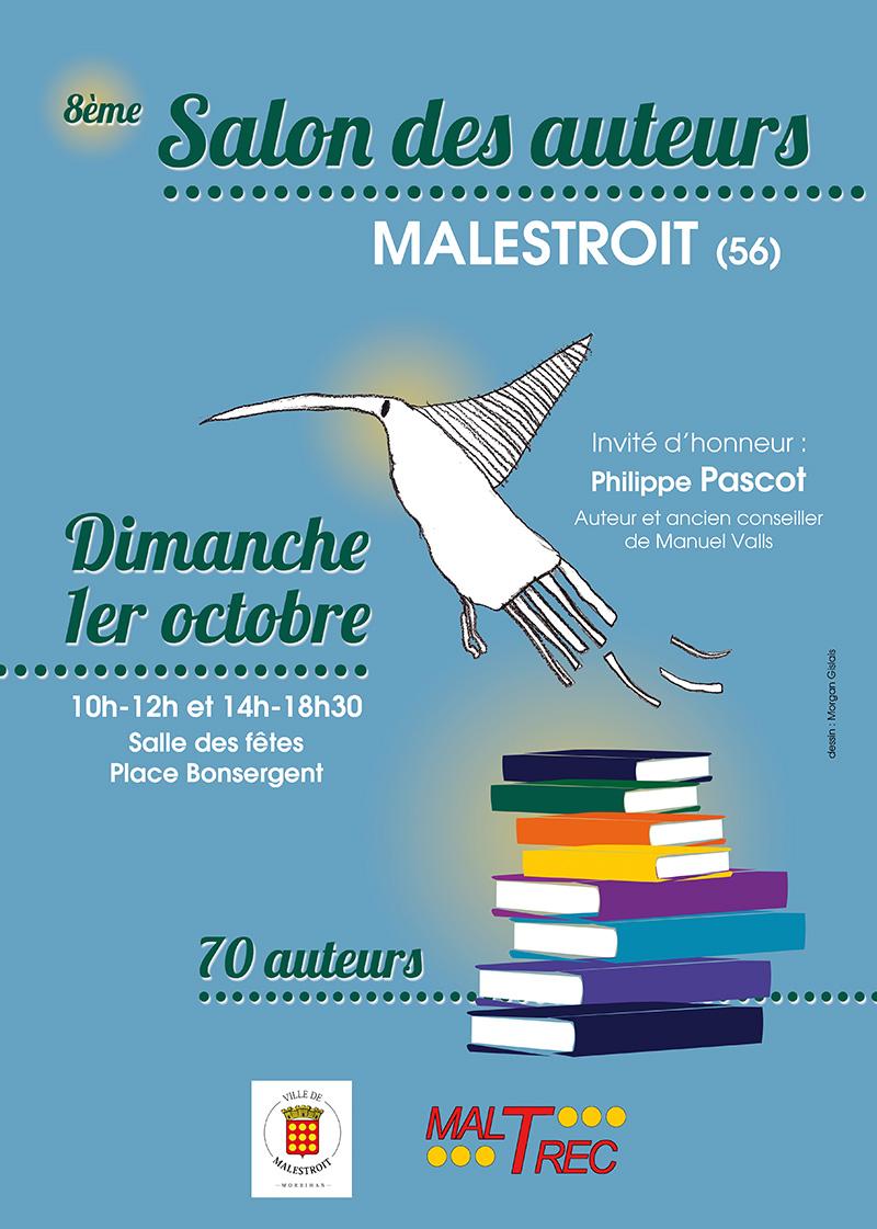 Les Lutins Urbains au Salon des auteurs de Malestroit 2017