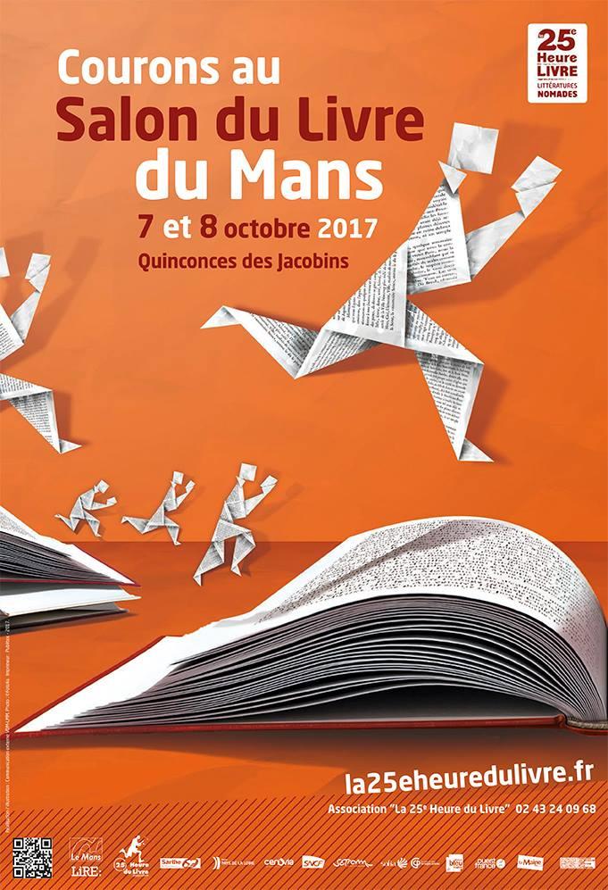 Les Lutins Urbains à la 25e Heure du Livre du Mans 2017