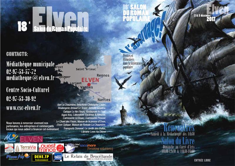 Les Lutins Urbains au Salon du Roman Populaire d'Elven 2017