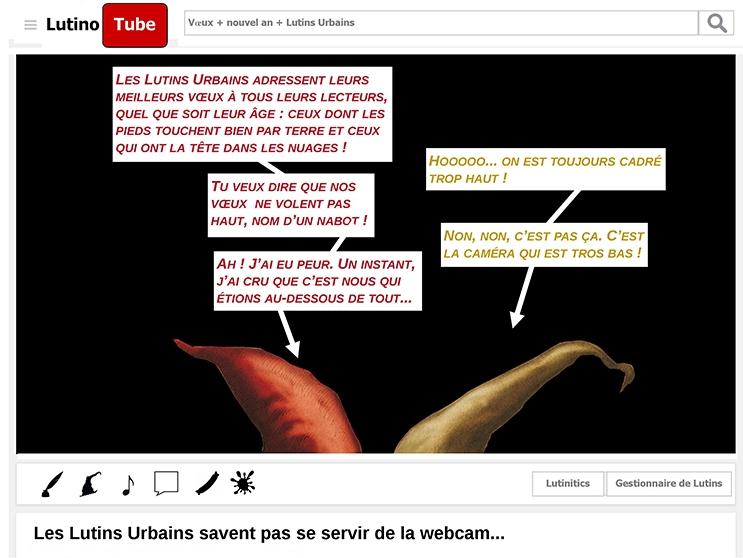 Les Lutins Urbains savent pas se servir de la webcam… (5) - les urbins