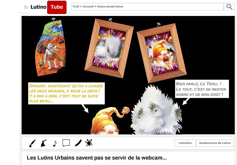Les Lutins Urbains savent pas se servir de la webcam - les urbins