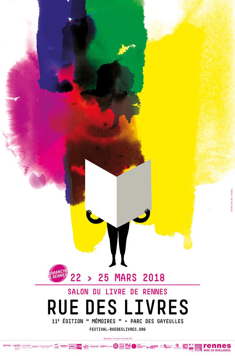 Les Lutins Urbains au Salon Rue des Livres de Rennes Maurepas