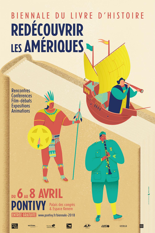 Les Lutins Urbains à la Biennale du Livre d'Histoire de Pontivy 2018