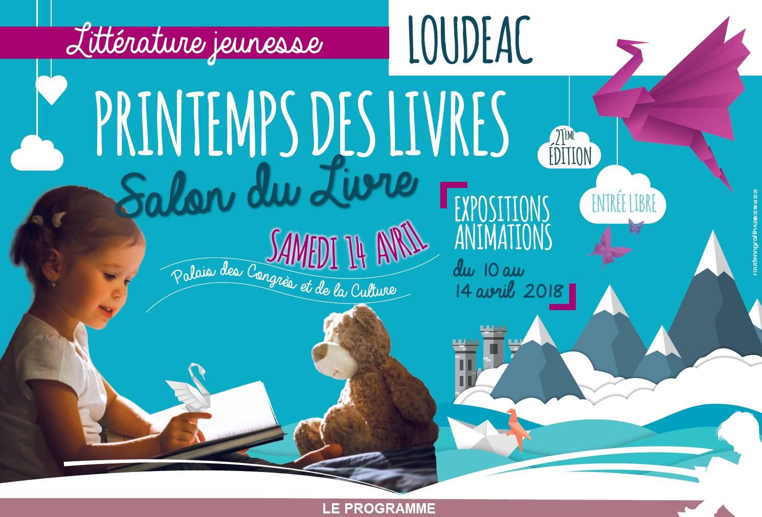 Les Lutins Urbains au Printemps littéraire de Loudéac 2018