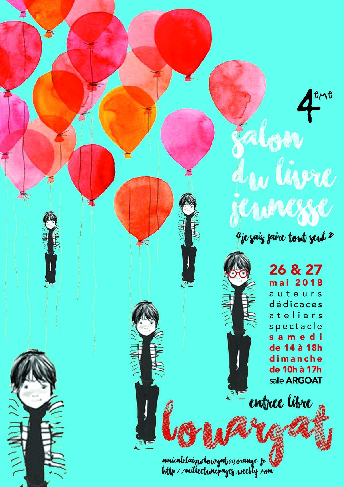 Les Lutins Urbains au Salon du Livre Jeunesse de Louargat