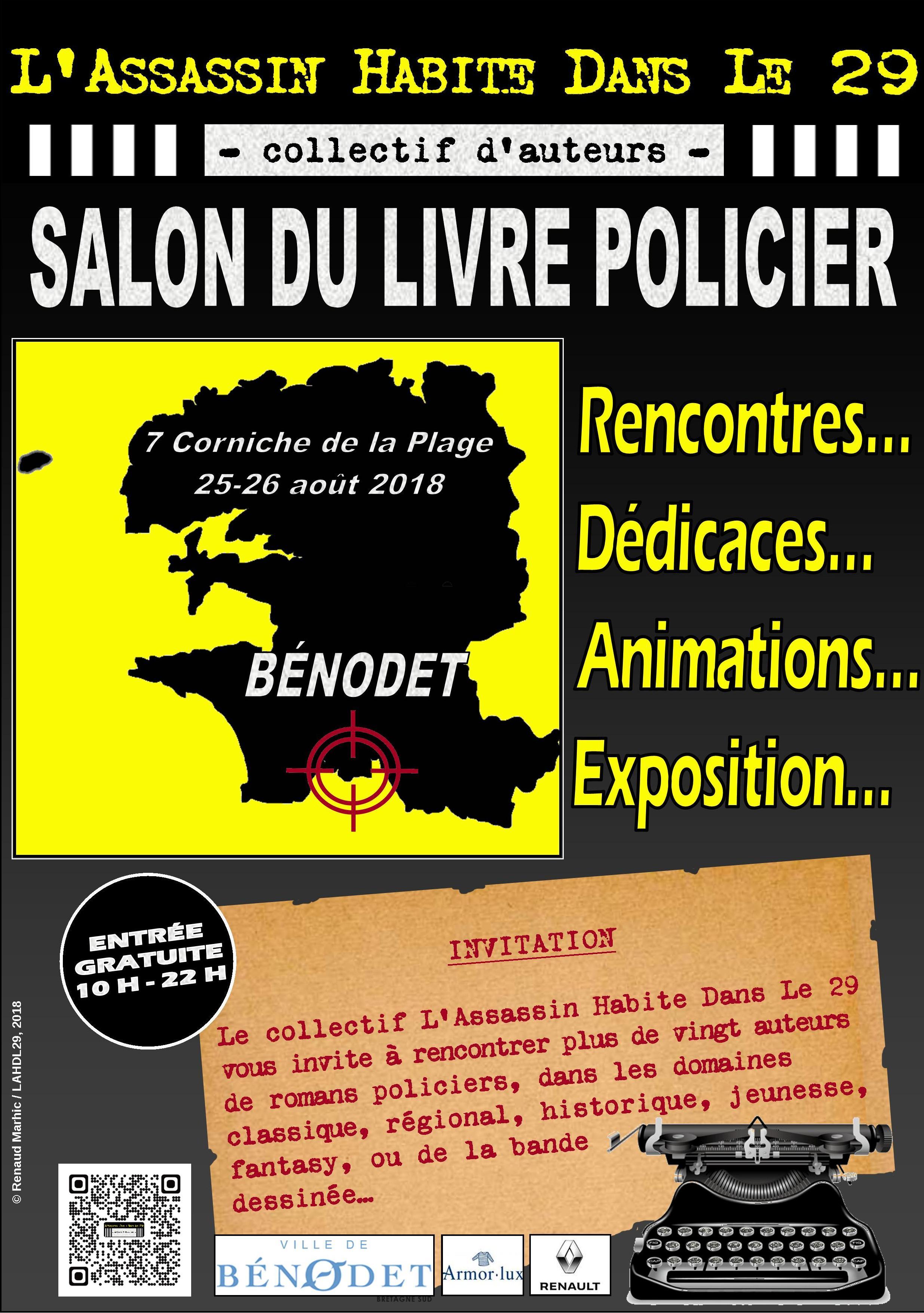 Les Lutins Urbains au salon du Livre Policier de L'Assassin Habite Dans Le 29 à Bénodet 2018