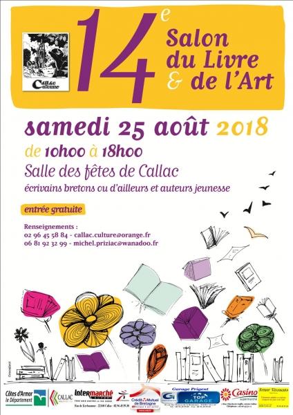 Les Lutins Urbains au Salon du Livre & de l'Art de Callac 2018