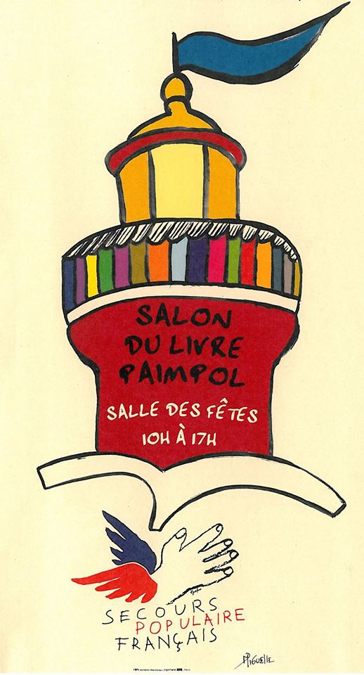 Les Lutins Urbains au Salon du livre du Secours Populaire de Paimpol 2018