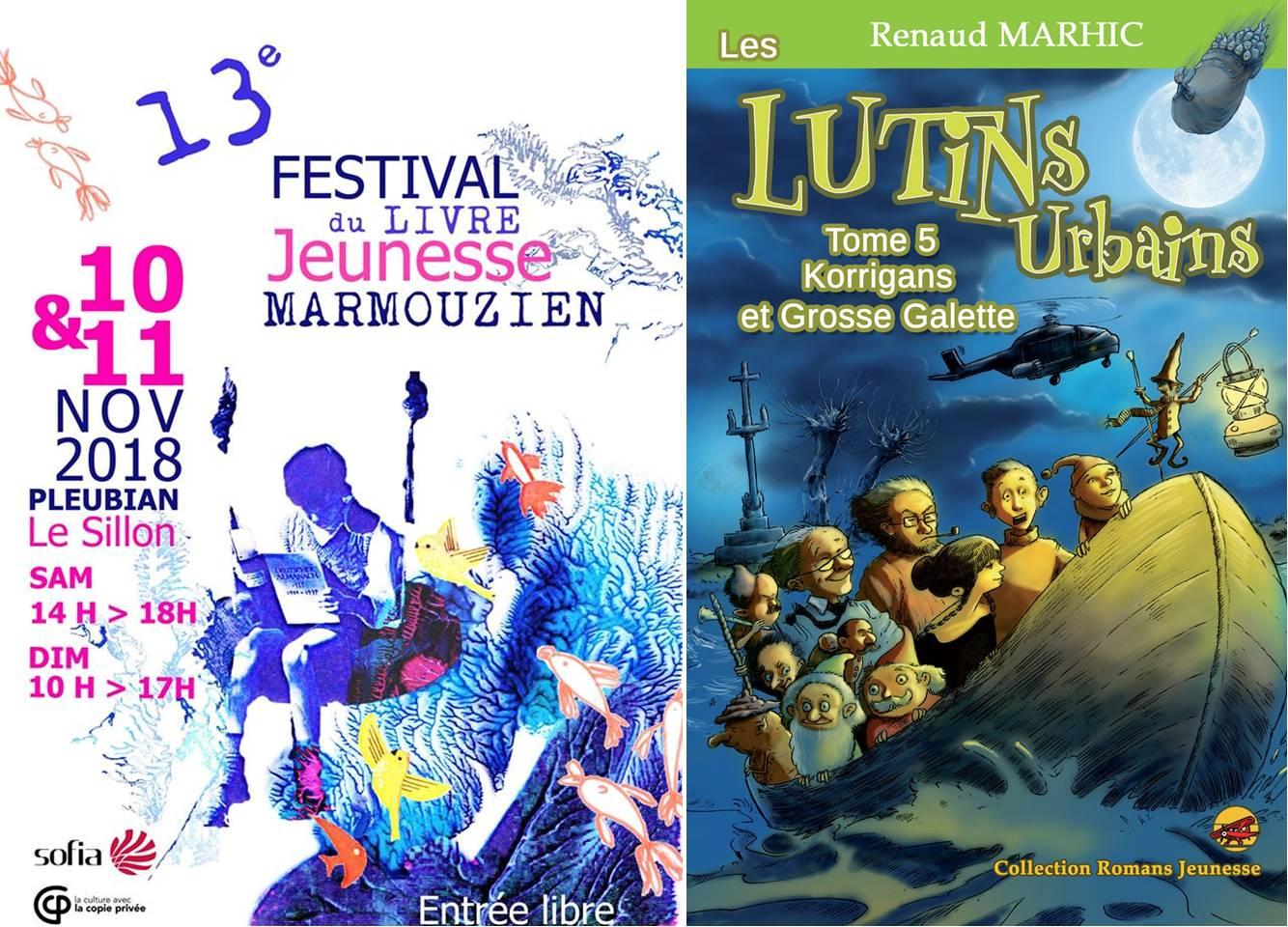 Les Lutins Urbains au Festival du livre jeunesse Les Marmouzien de Pleubian 2019