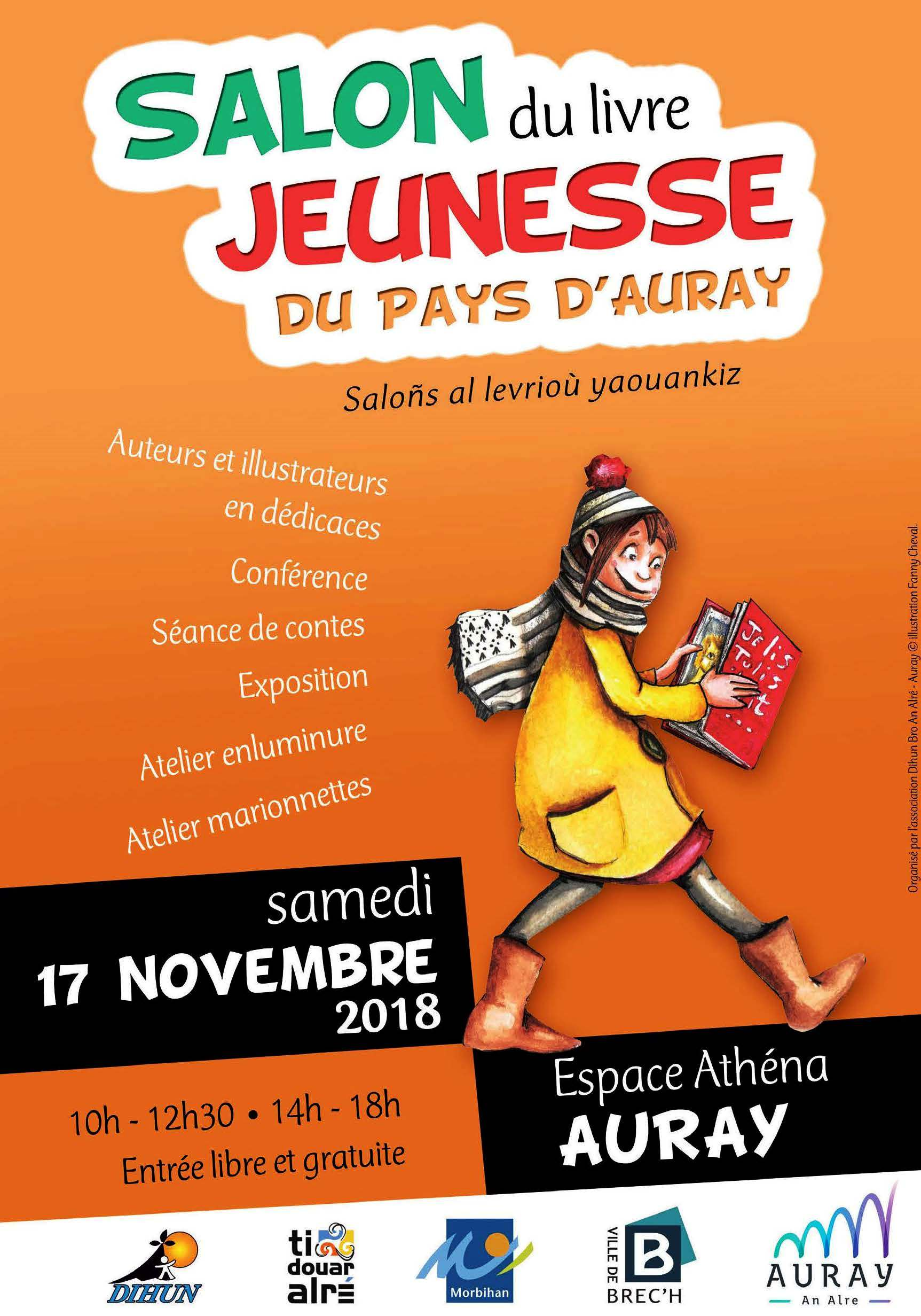 Les Lutins Urbains au Salon du Livre Jeunesse du Pays d'Auray