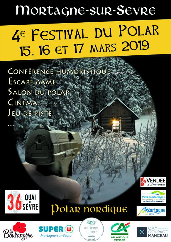 Les Lutins Urbains au salon du Polar de Mortagne-sur-Sevre 2019