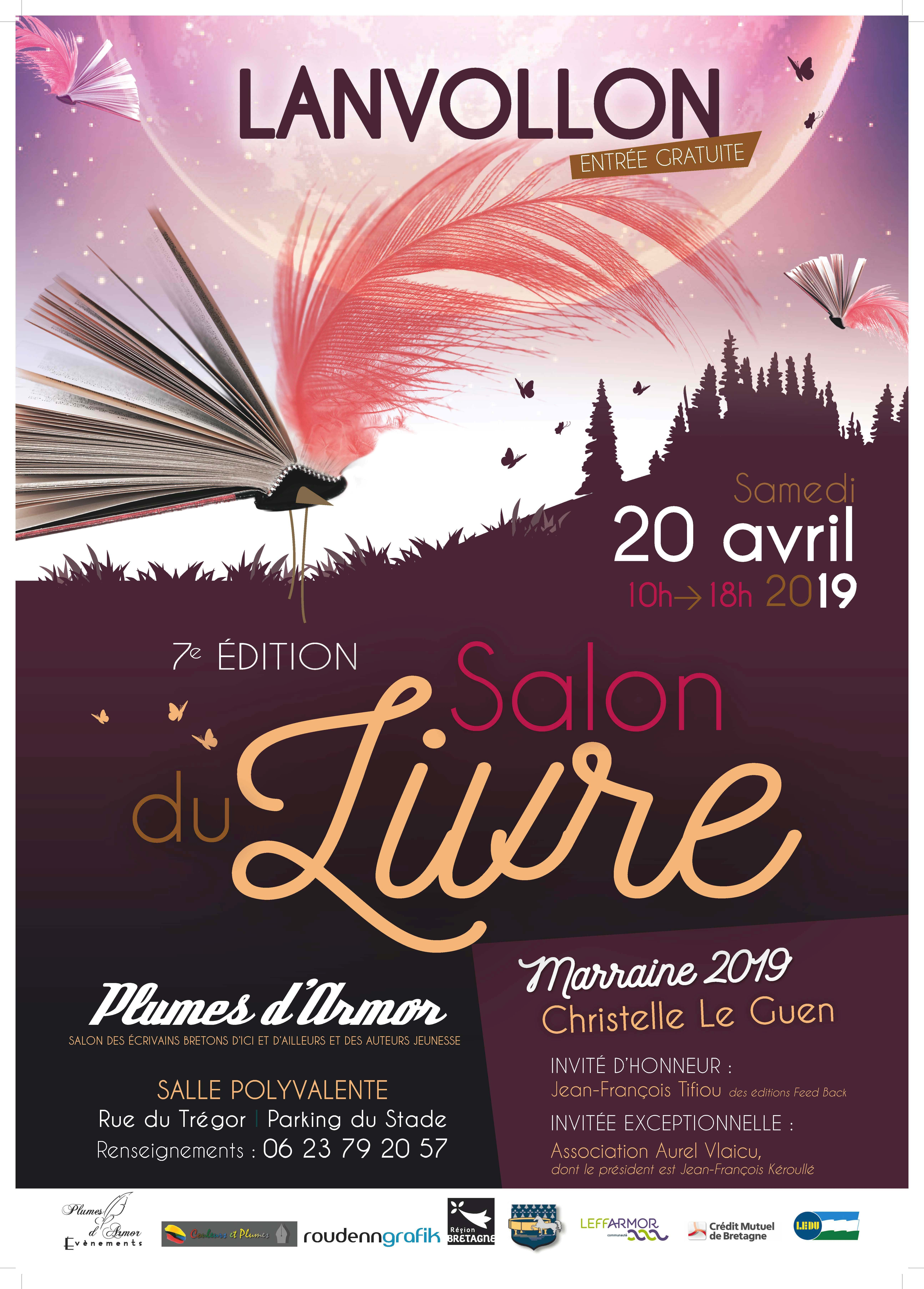 Les Lutins Urbains au Salon du Livre de Lanvolon 2019