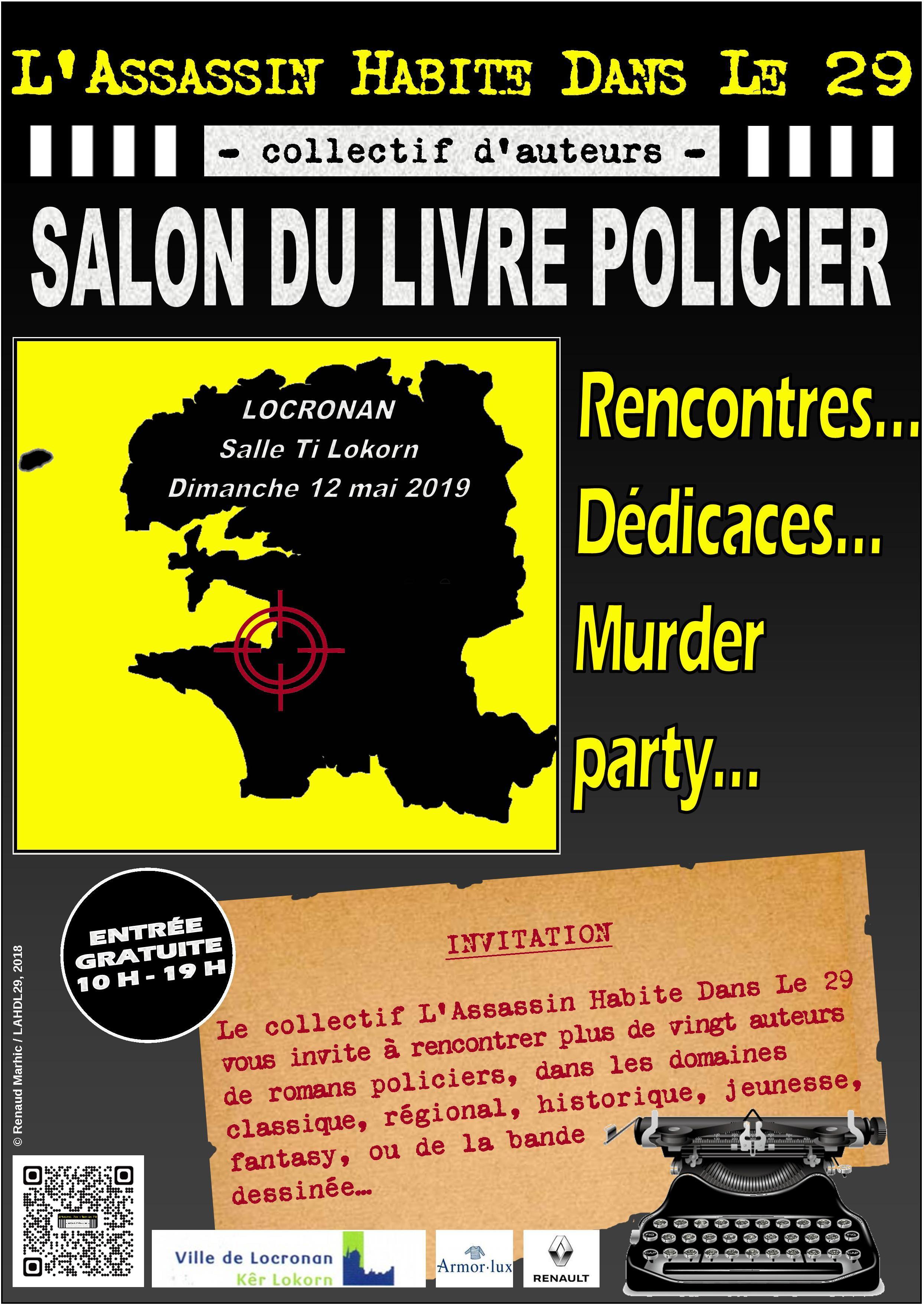 Les Lutins Urbains au Salon du Livre Policier de L'Assassin Habite Dans Le 29 à Locronan