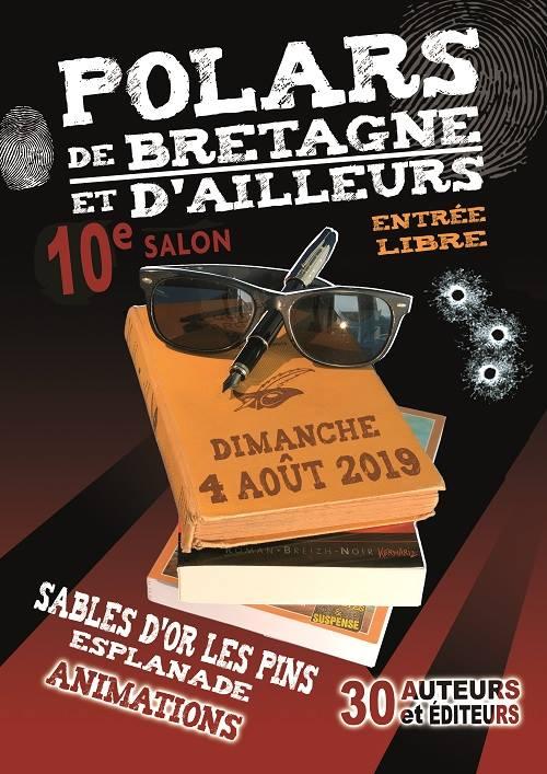 Les Lutins Urbains au Salon Polars de Bretagne et d'Ailleurs 2019