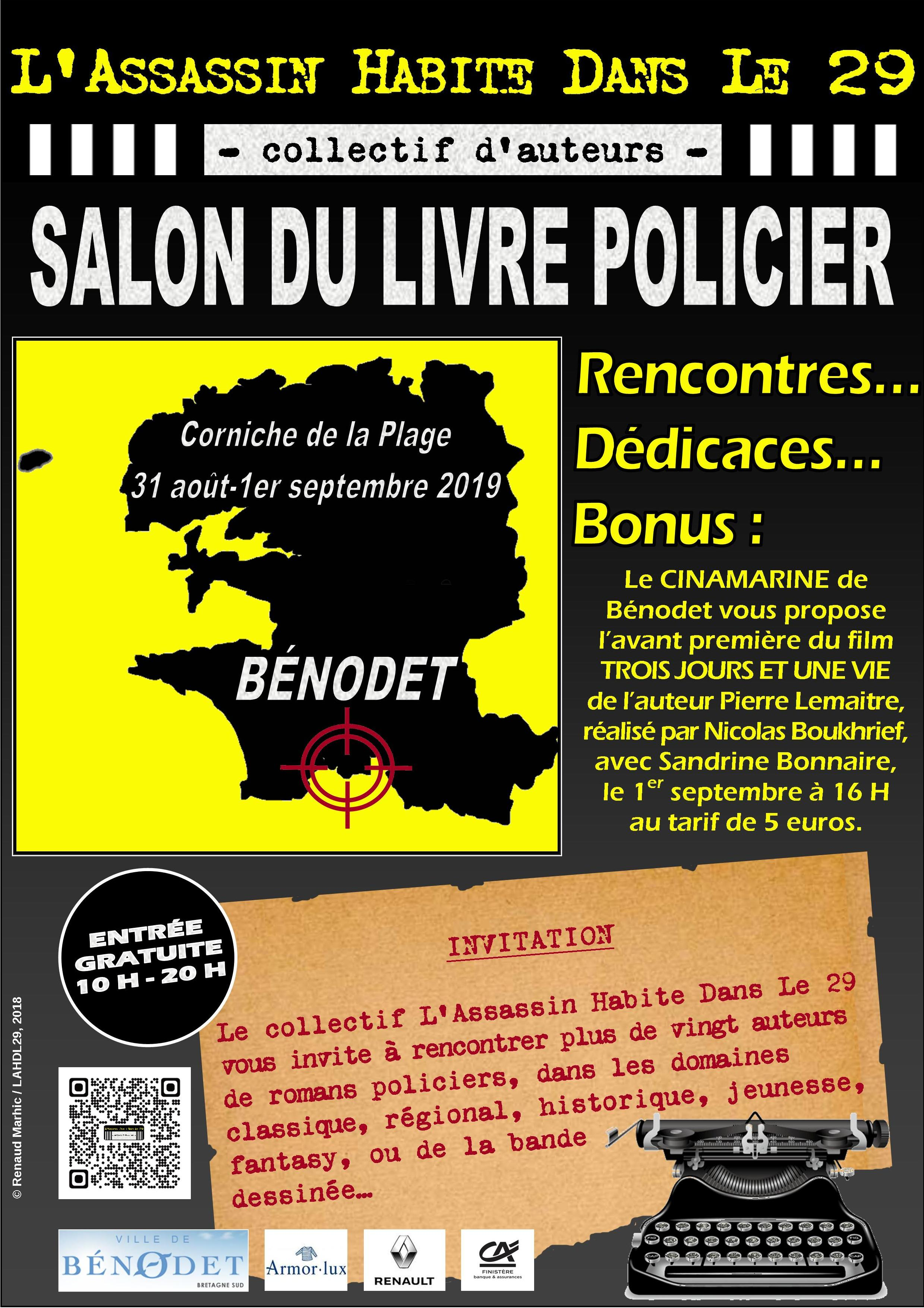 Les Lutins Urbains au salon du Livre Policier de L'Assassin Habite Dans Le 29 à Bénodet 2019