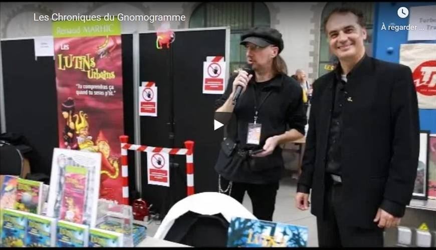 Les Chroniques du Gnomogramme : quand un auteur jeunesse fait apparaître ses personnages en hologrammes (1)