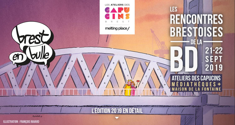 Les Lutins Urbains à Brest en Bulles 2019