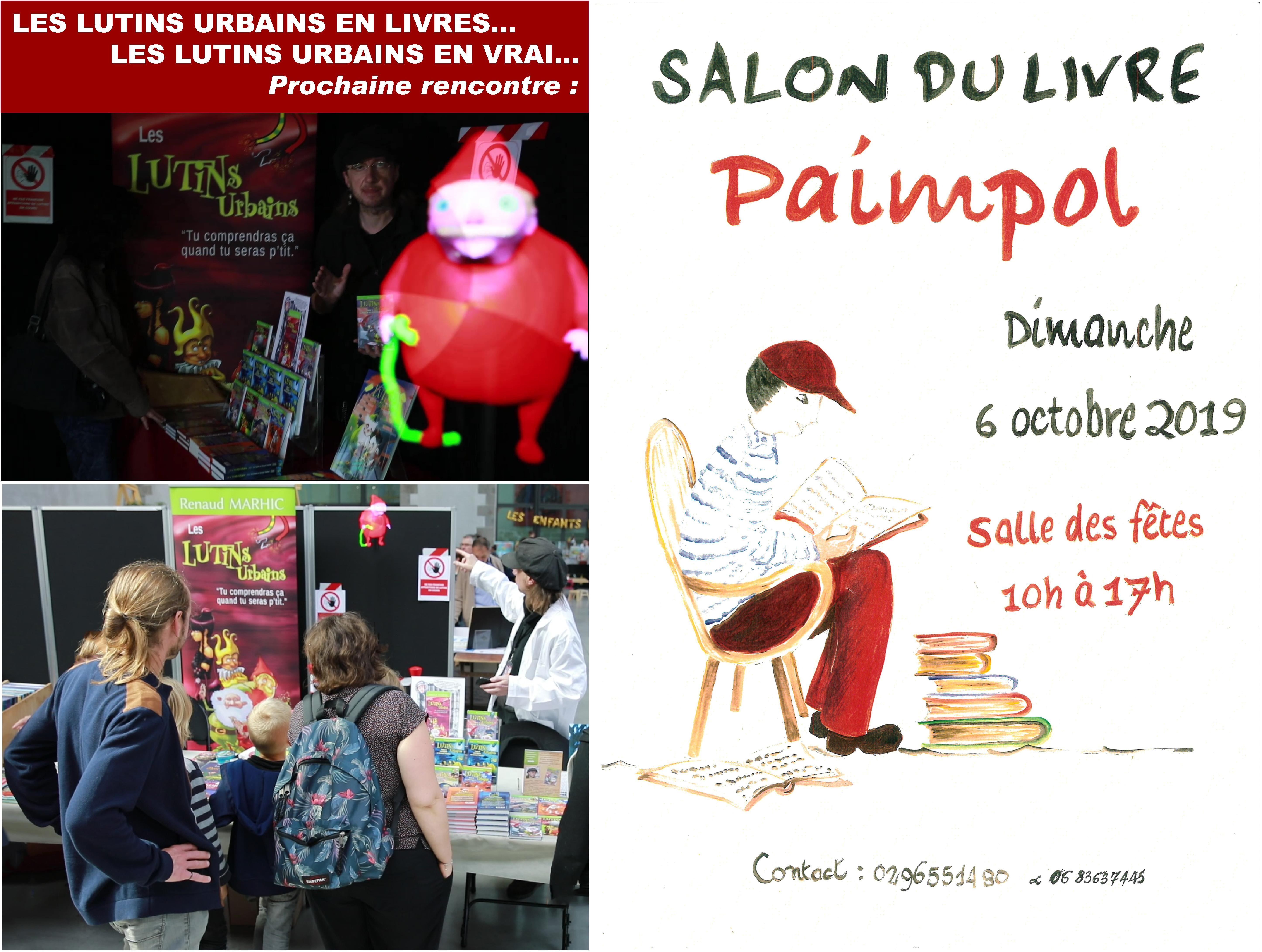 Les Lutins Urbains au Salon du Livre de Paimpol 2019