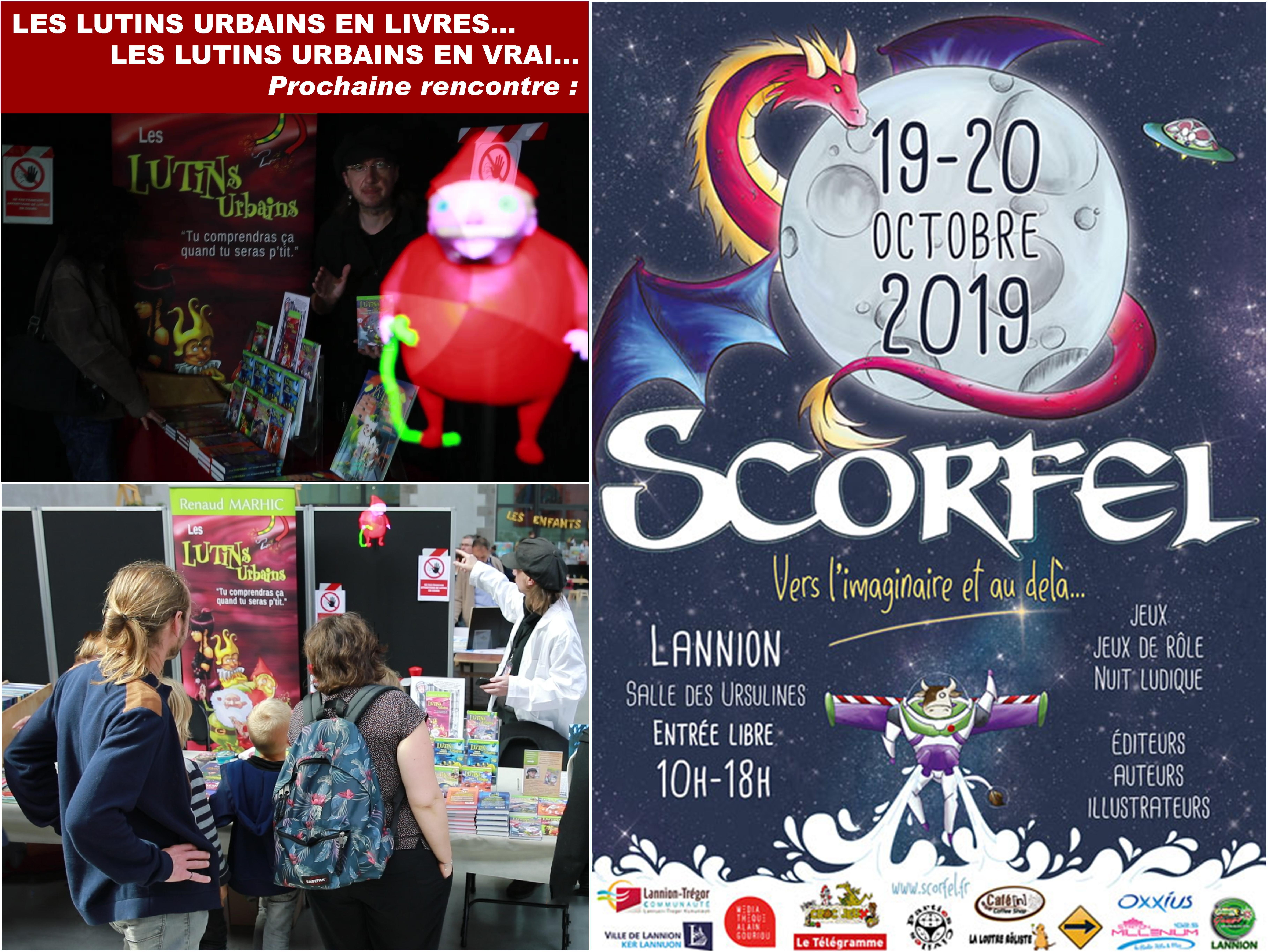 Les Lutins Urbains au Festival Scorfel 2019