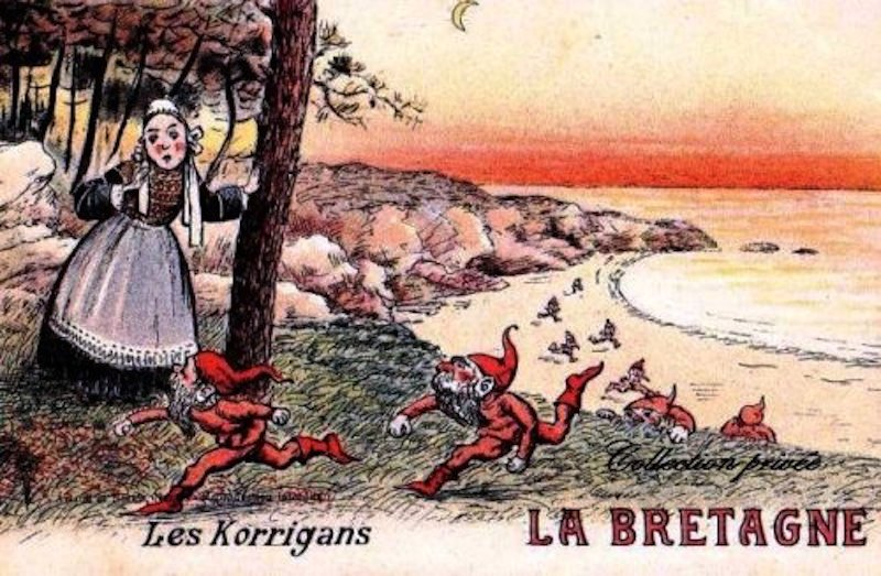 Korrigan, Lutins, Petit Peuple