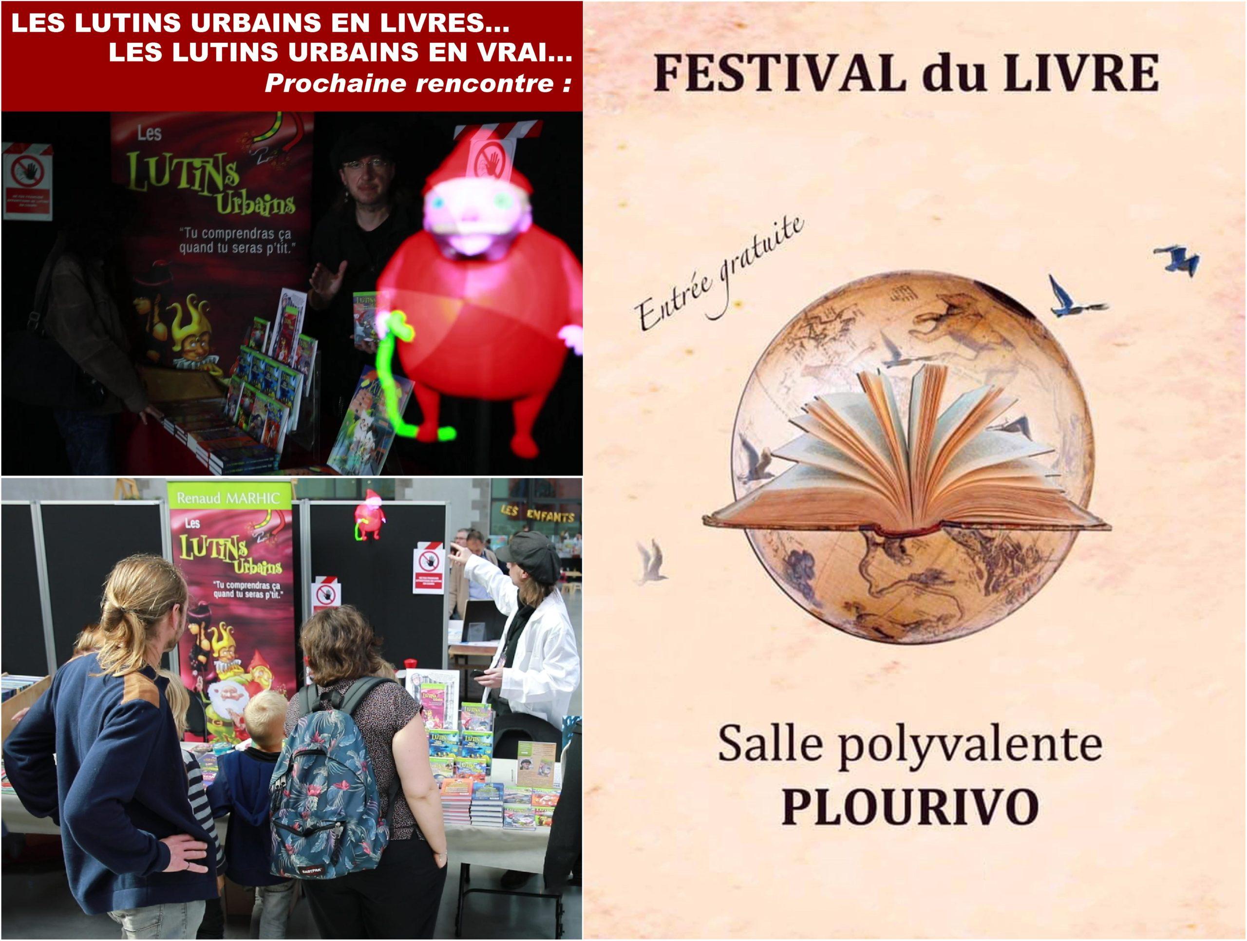 Les Lutins Urbains au Festival du Livre de Plourivo 2020