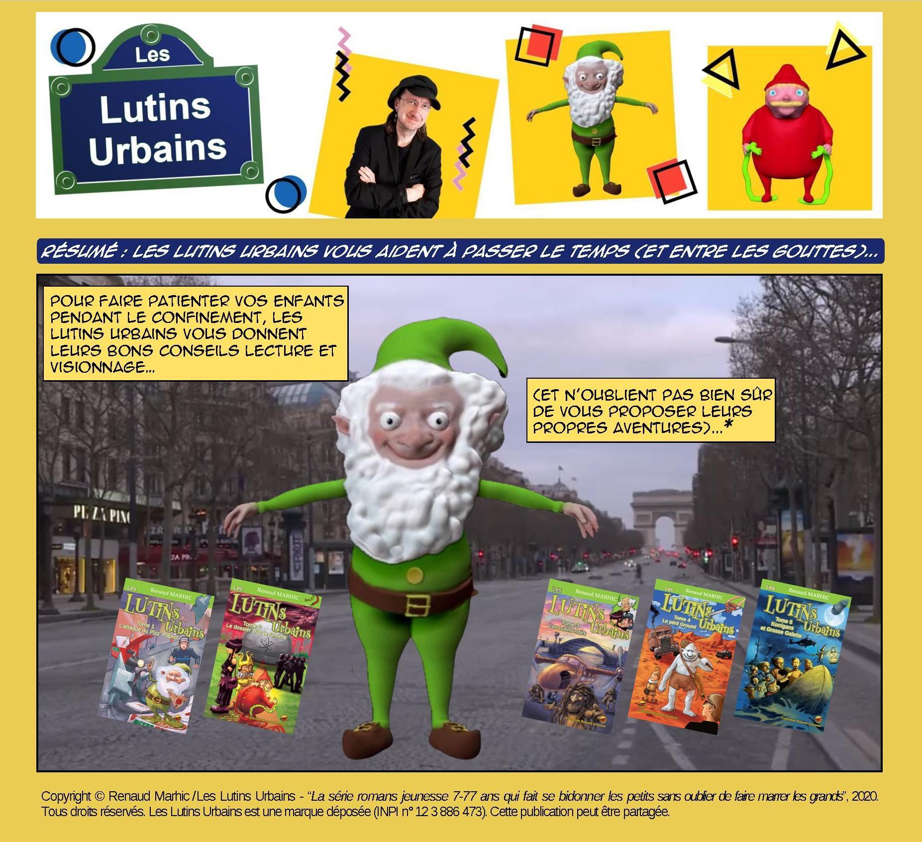 Résumé : Les Lutins urbains vous aident à passer le temps (et entre les gouttes)...