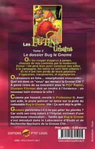 Le dossier Bug le Gnome - Les Lutins Urbains tome 1