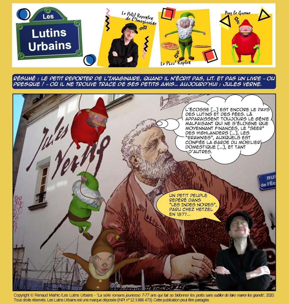 Petit Reporter de l'Imaginaire – Des écrivains et des lutins (18) : Jules Verne