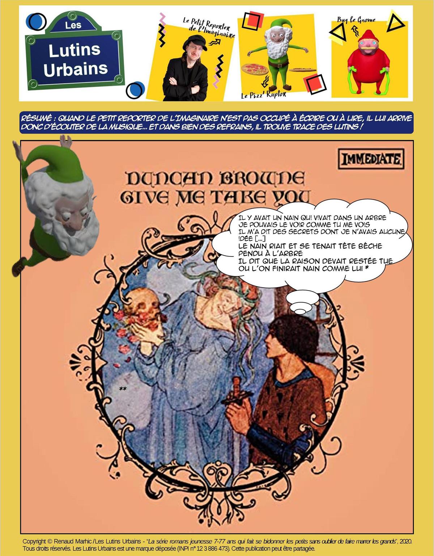 Petit Reporter de l'Imaginaire – Des musiciens et des lutins (12) : Duncan Brown