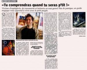 Les Lutins Urbains dans Le Petit Bleu des Côtes d'Armor, 2005 - les urbins