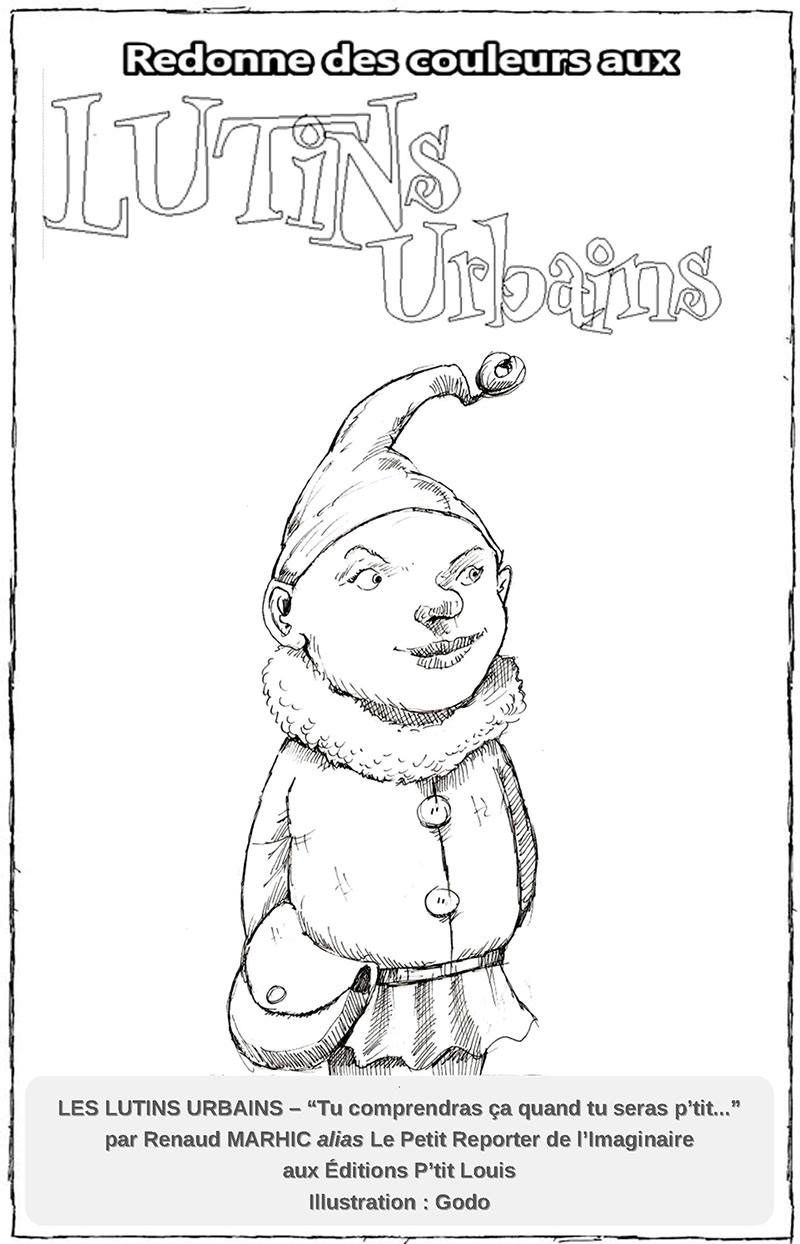 Les Lutins Urbains coloriage : Le Troll - les urbins