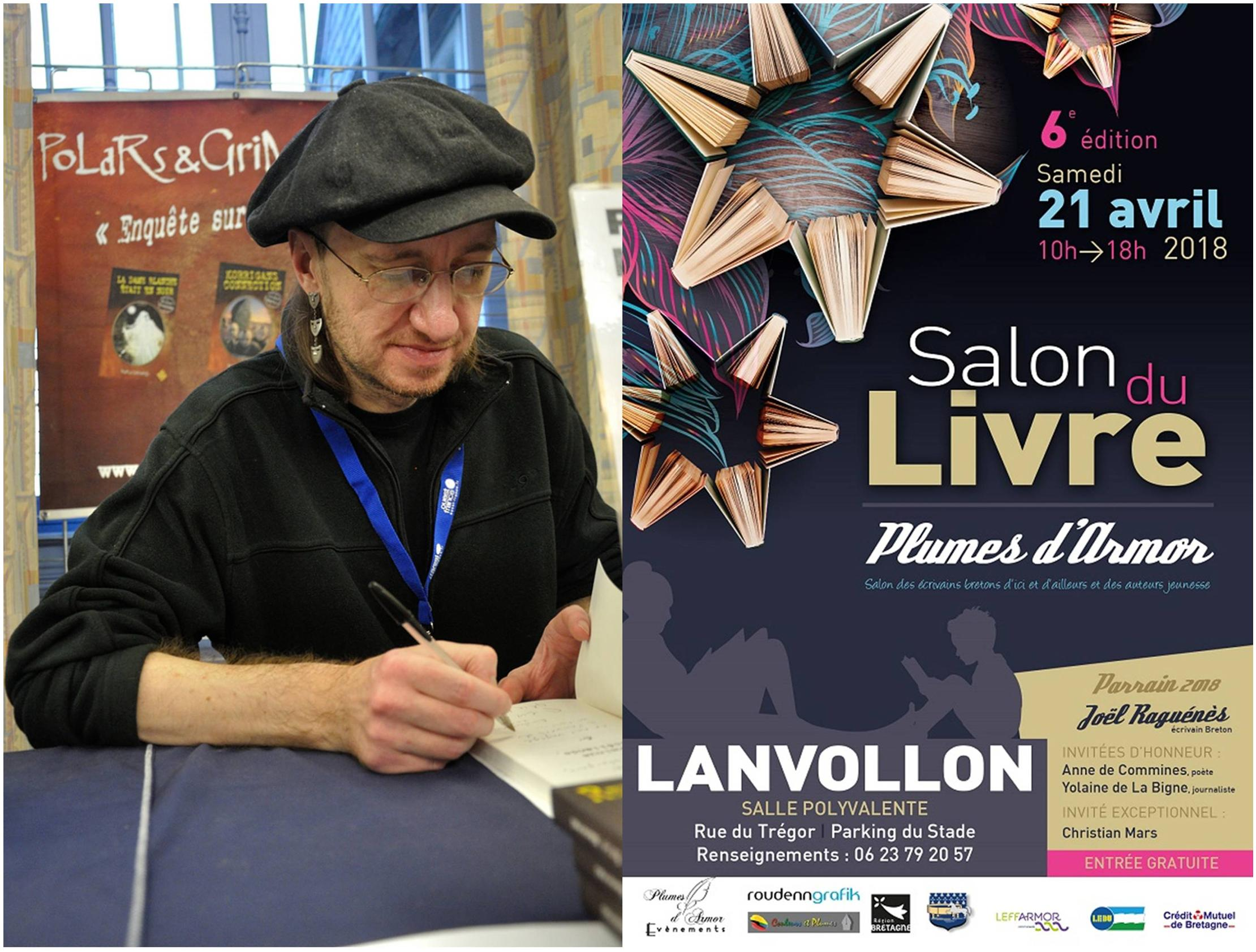 Les Lutins Urbains au Salon Plumes d'Armor de Lanvollon 2018