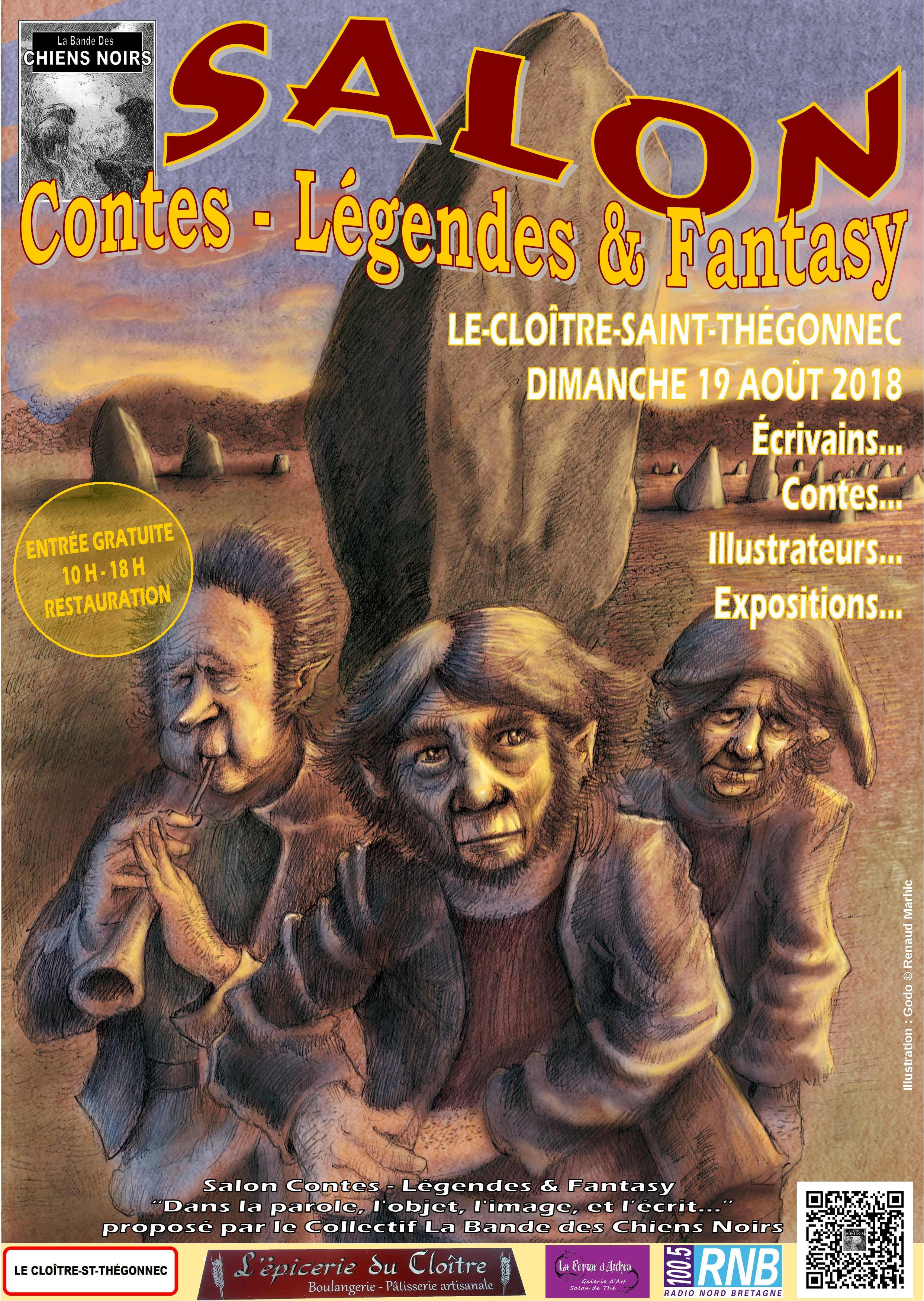 Les Lutins Urbains au Salon Contes - Légende & Fantasy 2018