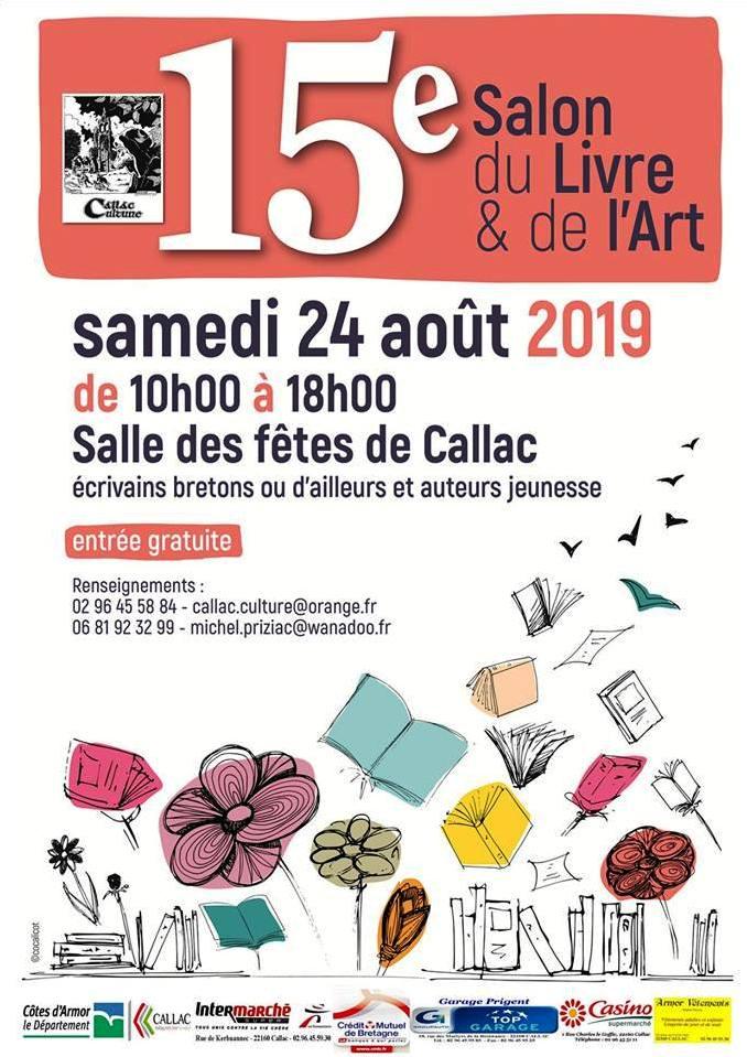 Les Lutins Urbains au Salon du Livre & de l'Art de Callac 2019