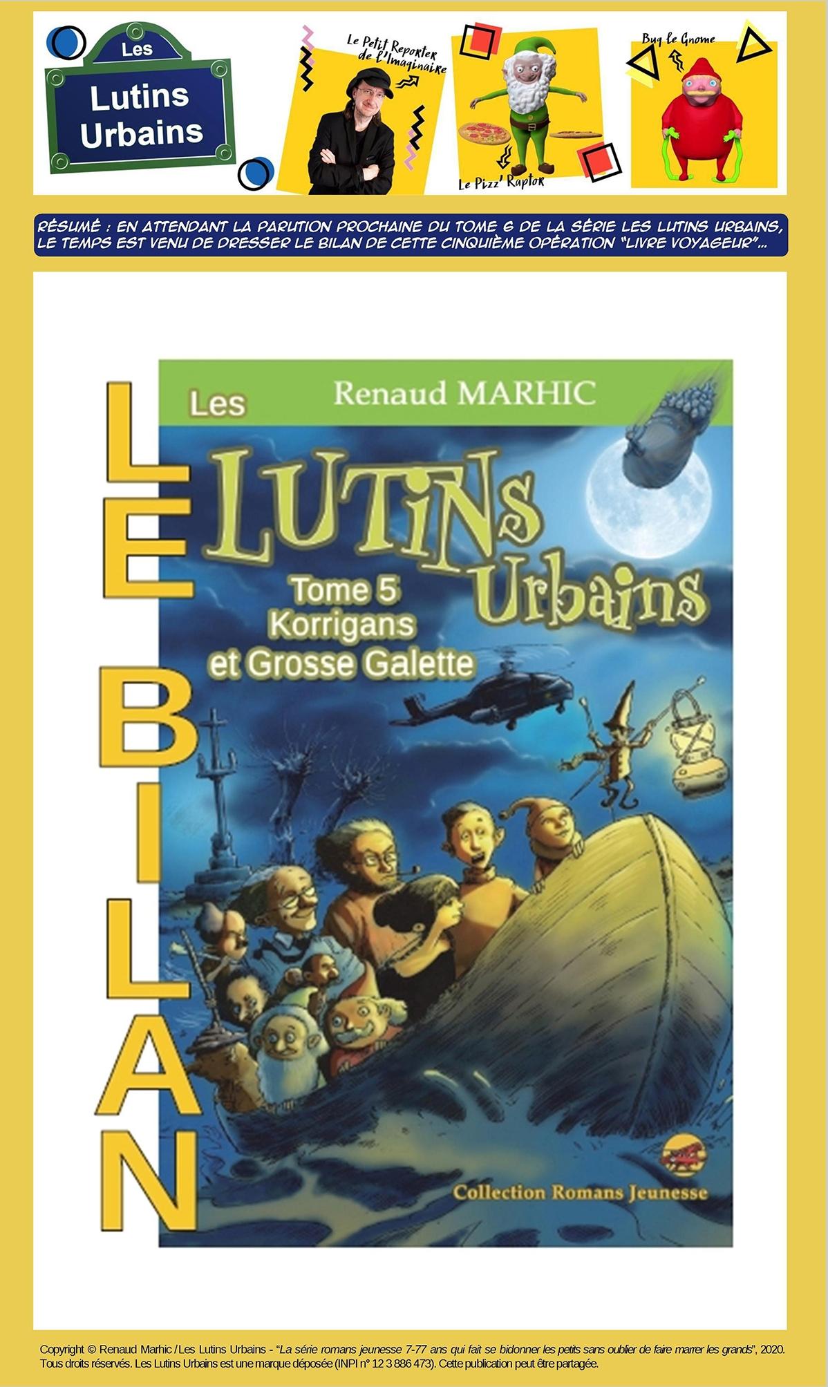 """Les Lutins Urbains (tome 5) : opération """"livre voyageur"""", le bilan"""