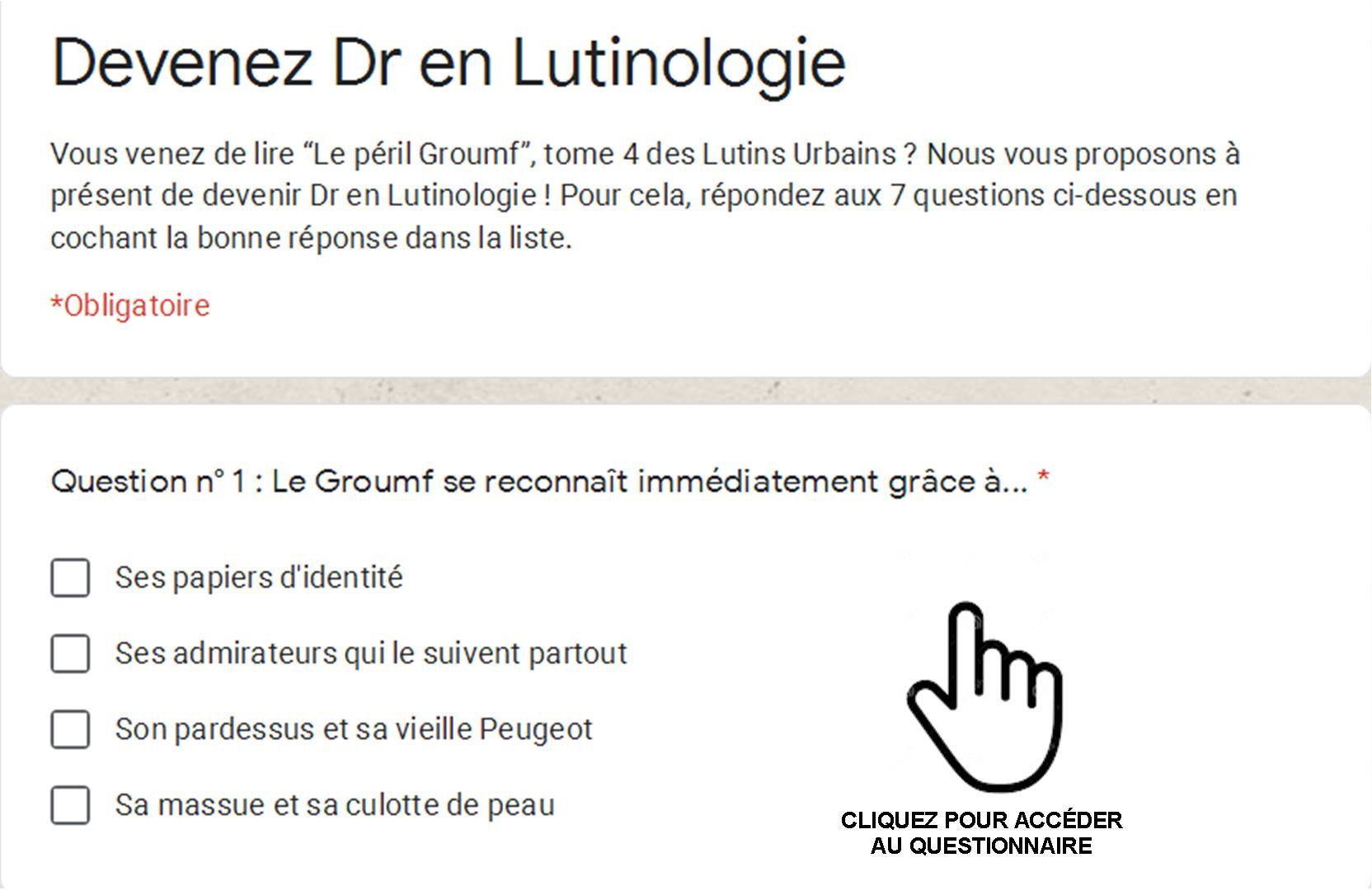 Devenez Dr en Lutinologie 5