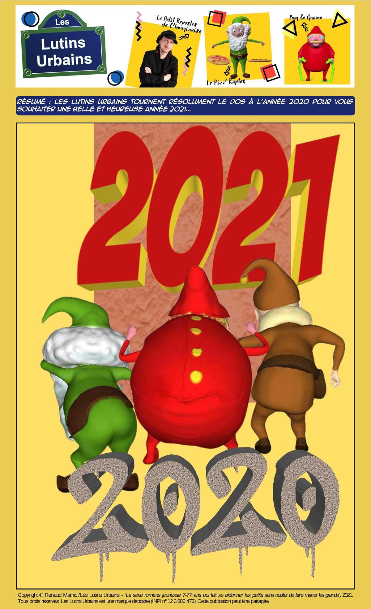 Les vœux des Lutins Urbains pour 2021