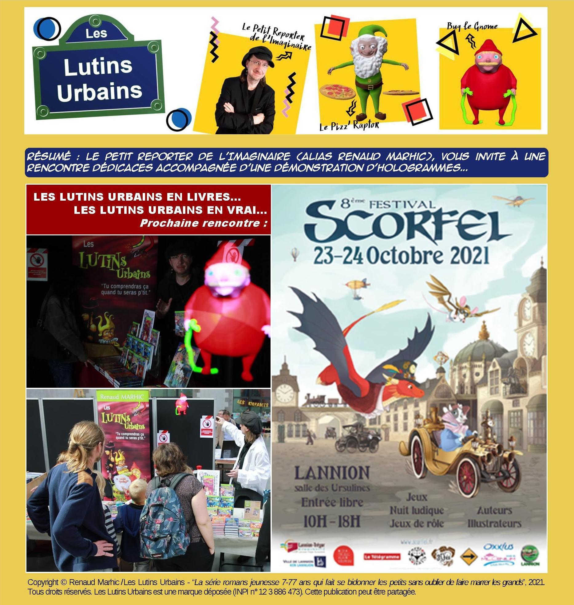 Les Lutins Urbains au Festival Scorfel 2021